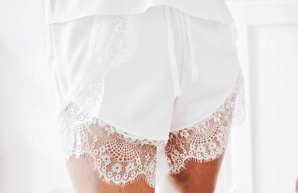 white cute shorts lace white shorts cute shorts