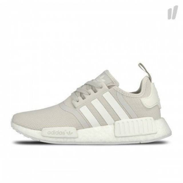 715f935f0e91 RARE Adidas NMD Runner R1 Off White Talc Cream Women S76007 ...