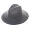 Camelot wool fedora hat in mixed grey at flyjane