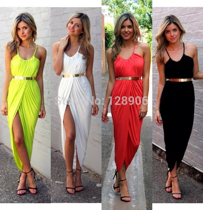 Aliexpress.com : Buy Women's Bandage Dress Stretch Cotton Sling Irregular Beach Dress Slim waist Sexy Nightclub Dresses 4 color Spot Free Shipping from Reliable dress r suppliers on Babyzone