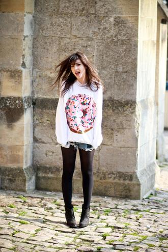 betty donut sweater