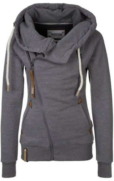 jacket zip-up hoodie