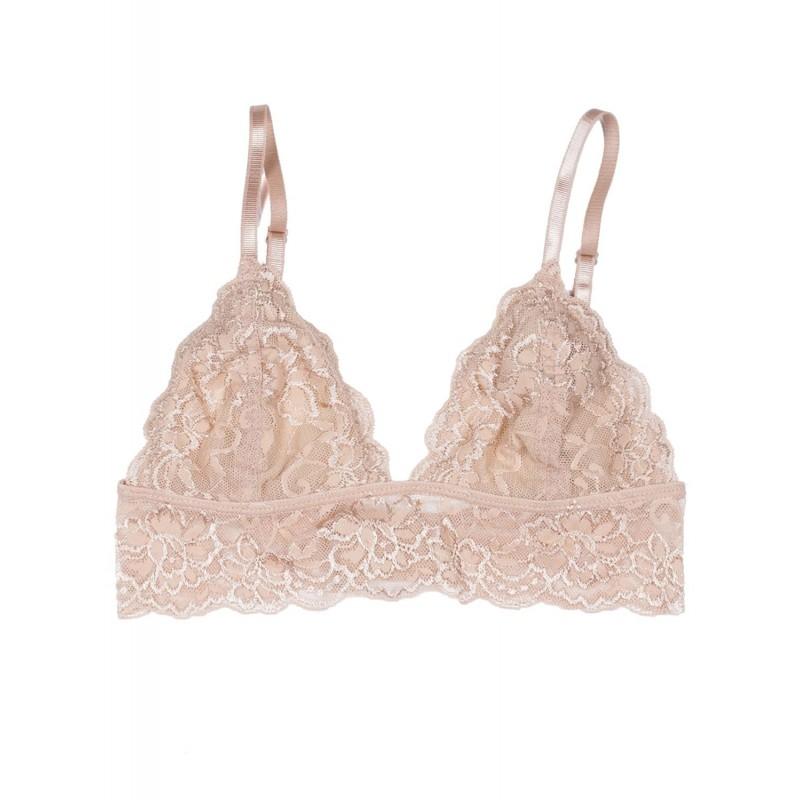 Fleur Romance Bralette - Beige - Bras - Lingerie - Clothing