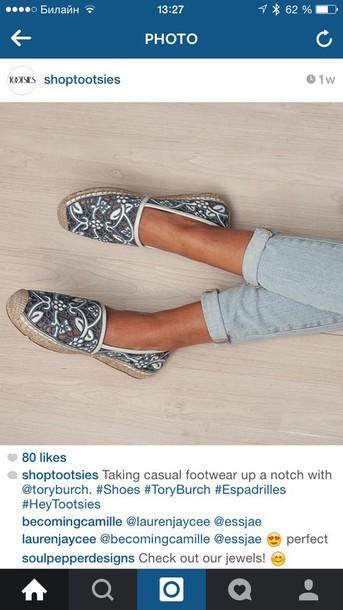 shoes tory burch espadrilles