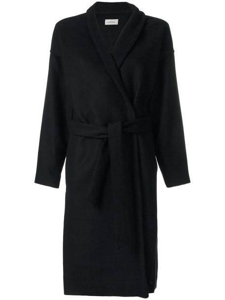Totême coat women slit black