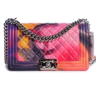 bag fashion my other bag is chanel bags and purses designer flowered colorful spring style