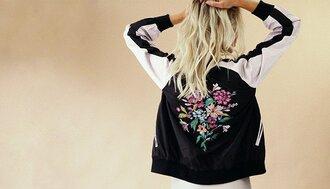 jacket floral floral jacket embroidered embroidered jacket bomber jacket satin bomber satin bomer jacket black satin bomber embroidered bomber jacket floral bomber jackett ogvibes ogv