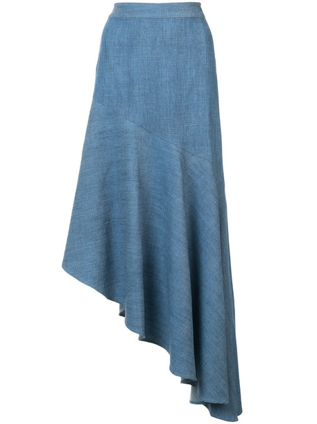 skirt women blue