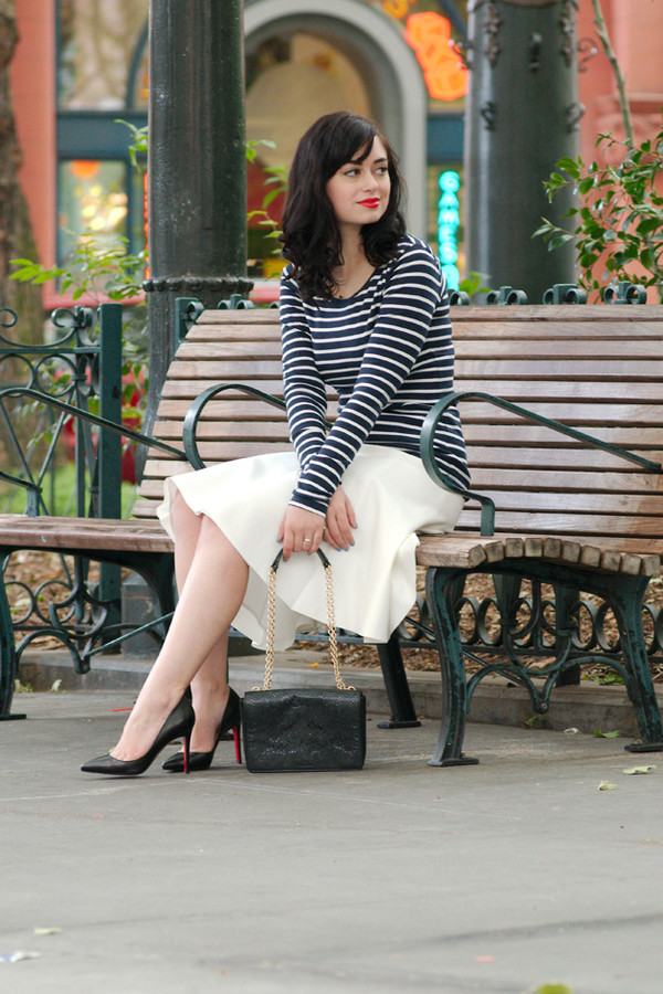 coco and vera top skirt shoes bag jewels