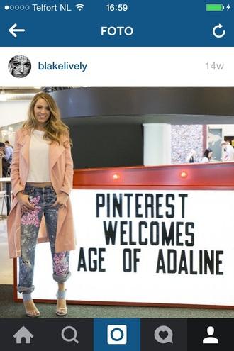 jeans blake lively embellished denim