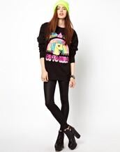 sweater,beautiful halo,black,grunge,goth,hippie,fashion,grunge wishlist,girly