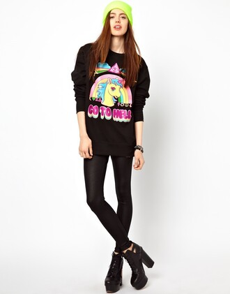 sweater beautiful halo black grunge goth hippie fashion grunge wishlist girly