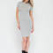 Necessary knit basic minidress black olive white purple grey - gojane.com