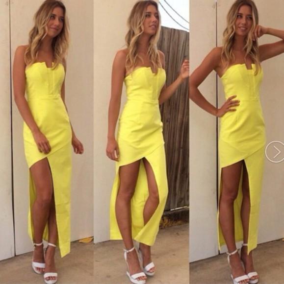asymmetrical evening dress sleeveless dress chiffon strapless stomacher