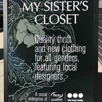 My Sister's Closet - social enterprise of Battered Women's Support Services