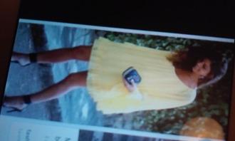 dress yellow dress flowy dress shift dress sleeves