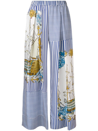pants palazzo pants women silk
