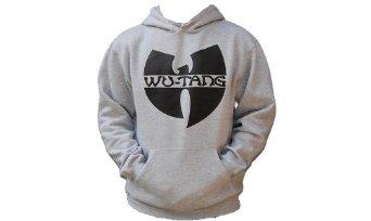Amazon.com: Wu-Wear Wu-Tang Logo Hoodie Heather Grey Wu-Tang Clan M-XXL(XXL): Clothing