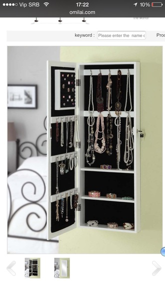 nail accessories mirror jewelery