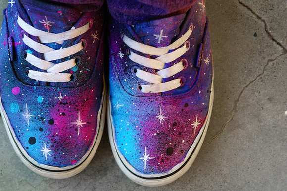 vans? shoes galaxy shoes