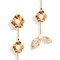 Kate spade new york lavish blooms linear earrings