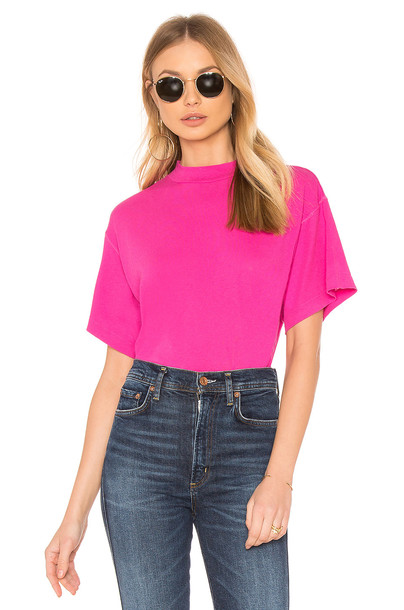 Free People pink top