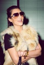 sunglasses,aviator sunglasses,kim kardashian,brown sunglasses,fashion,trendy