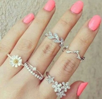 jewels jewerlly jewelry rings and tings nails nail accessories
