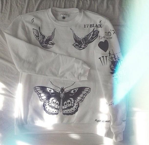 harry tattoo sweater