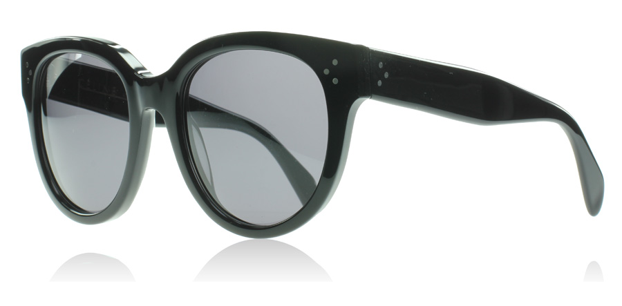 Celine Audrey Sunglasses : Audrey Black 807 Polarised : US