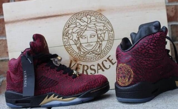 shoes versace jordans