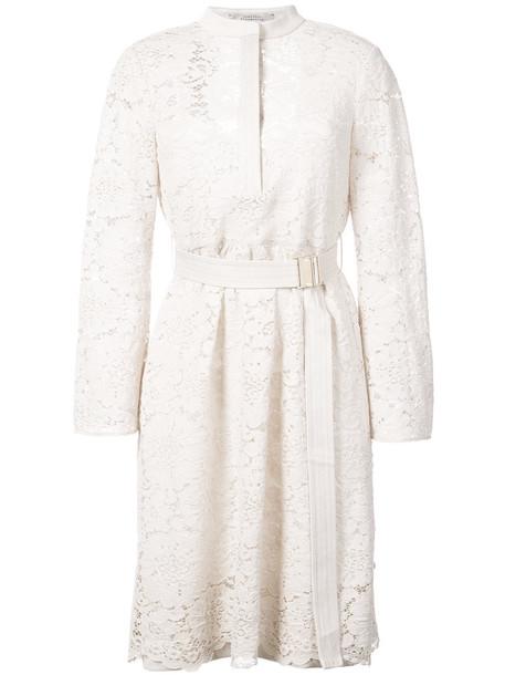 Dorothee Schumacher dress women white silk