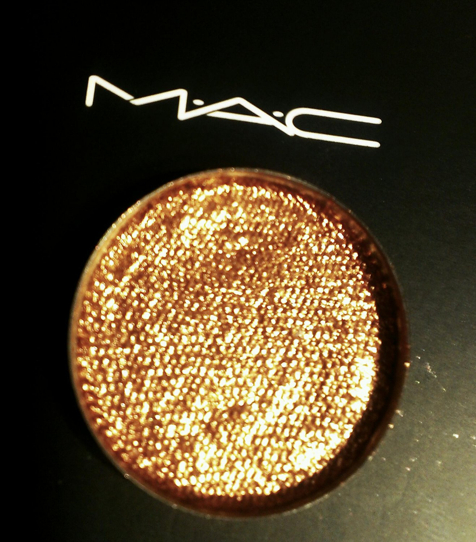 Mac copper sparkle pressed pigment