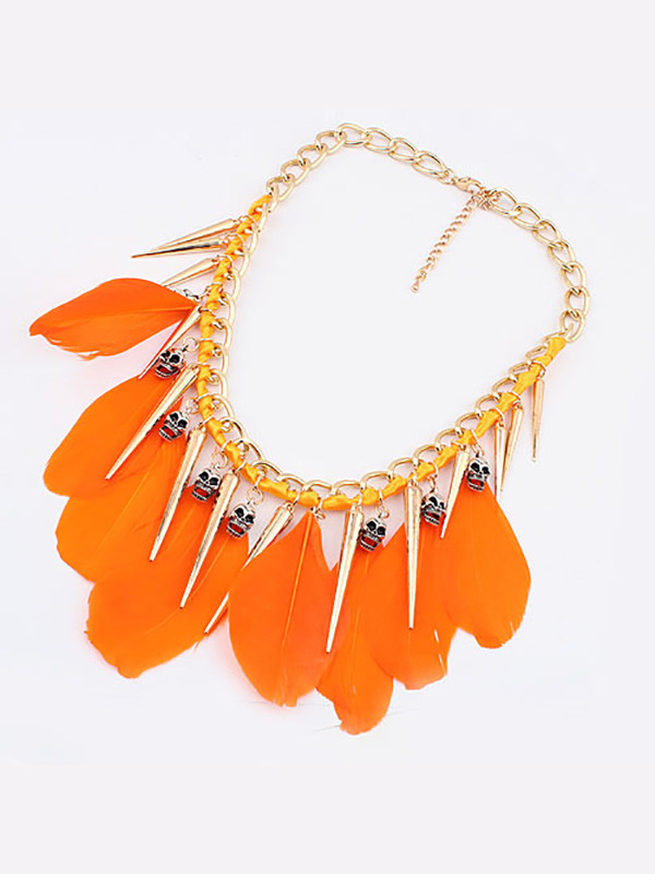jewels orange necklace fashion accessory fashion jewelry