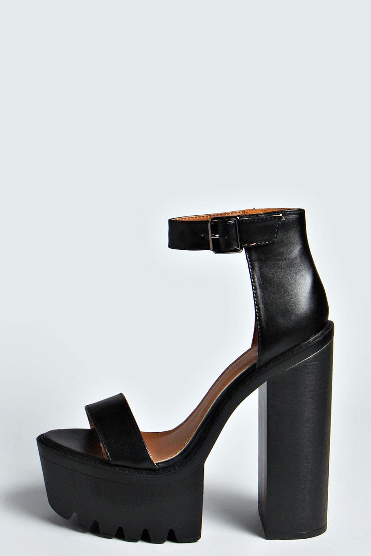 Tania Ankle Strap Platform Heels