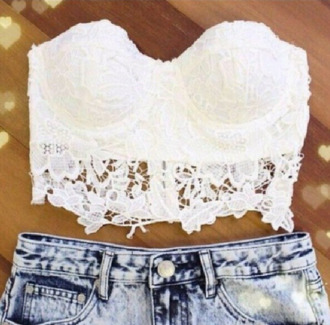 t-shirt bralet bralet top corset bra corset bra white bralette summer crop tops white crop tops cute