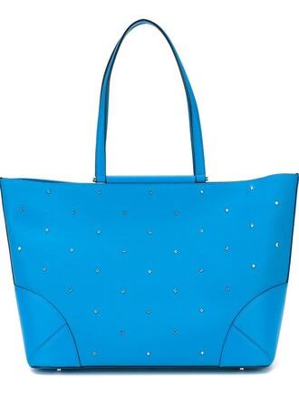 studs blue bag