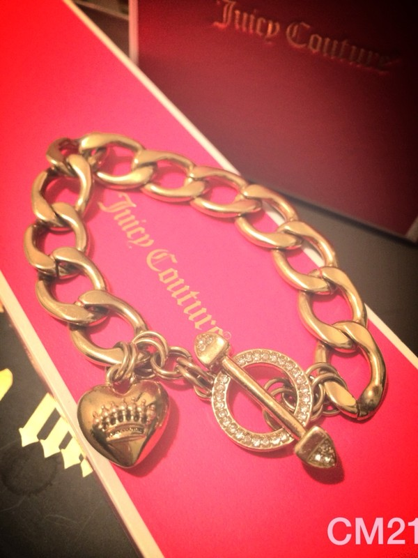 jewels juicy couture bracelet bag