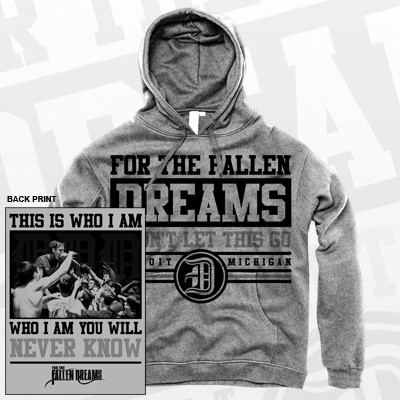 I won't let this go hoodie