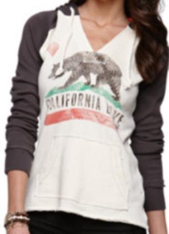 sweater california comfy brown california republic
