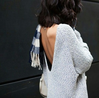 sweater grey gray coy chill sexy cool too sweat style fashion summer top