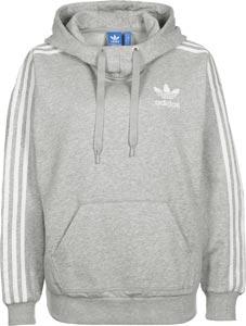 adidas hoodie grau