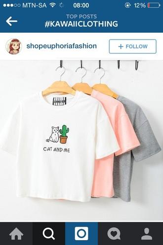 t-shirt kawaii