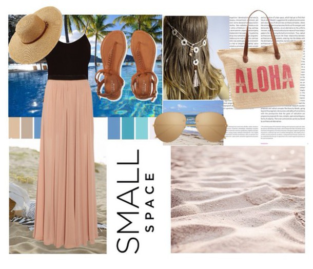 skirt beachwear beachy waves