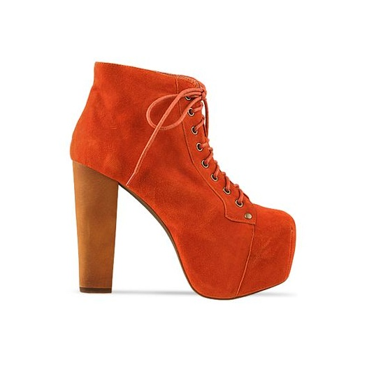 Jeffrey campbell lita burnt orange suede