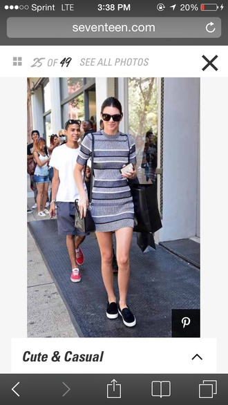 dress kendall dress kendall jenner striped dress