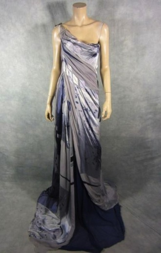 dress long dress maxi dress one shoulder ruched purple violet layered dress gathered dress gathered side