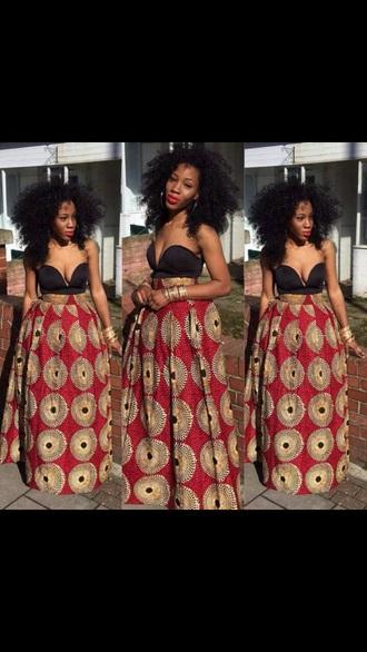 dress maxi dress tribal print dress