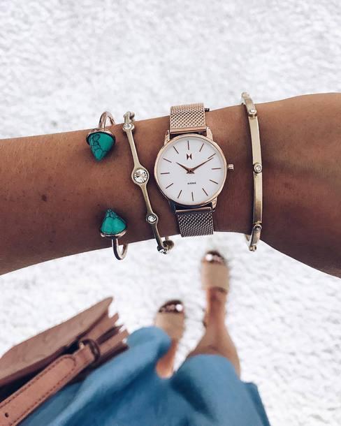 jewels mvmt mvmt watches watch gold watch accessories Accessory bracelets gold bracelet