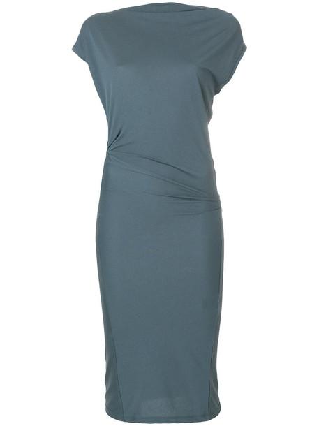 Isabel Marant etoile dress draped dress women draped blue